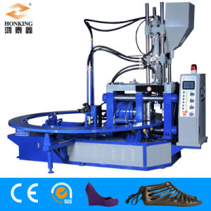 Jelly Shoe Injection Molding Machine (Vertical Screw) pictures & photos
