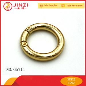 Screw Metal Clip O Ring Metal Handbag Clasp Ring pictures & photos
