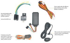 Protrack GPS Tracking Device Manufacturer of Vt08s GPS Car Tracker