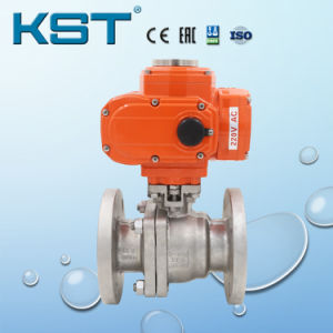 Manufacture Motorized Flanged Ball Valve Explosion Proof
