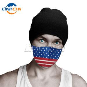 Hot Selling Amazon Camouflage Polyester Party Masks Custom Logo Facemask