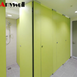 China amywell public commercial compact laminate gym room shower