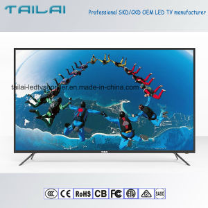 "Latest Design 55"" UHD 4K Od35 Od20 Android LED TV with Wireless 3840X2160"