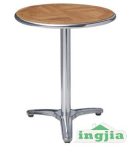 Outdoor Wood Bar Bistro Public Dining Patio Table JT 98