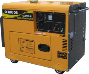 5kw 6kw Single Phase Electric Diesel Silent pictures & photos