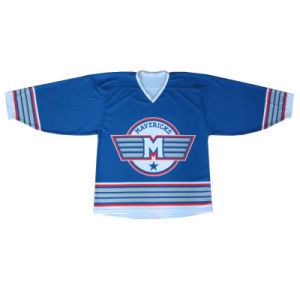 Custom Sublimate Printed Ice Hockey Jersey with Your Logos pictures & photos