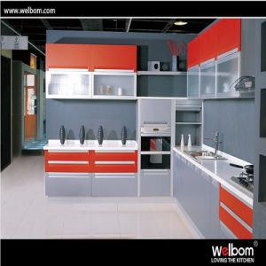 China 2016 Welbom Modern Mfc Kitchen Cabinet Design China Kitchen
