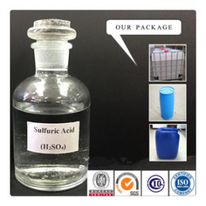 Sulfuric Acid Plant with Industry Grade Sulfuric Acid 98% 96% pictures & photos