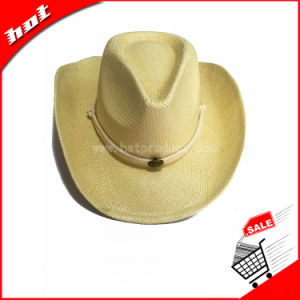 Paper Straw Cowboy Hat Promotional Sun Hat pictures & photos