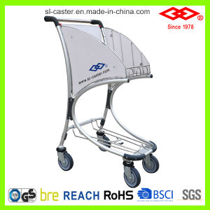 Aluminium Alloy Shopping Trolley Cart for Airport Duty-Free Shop (CA-80) pictures & photos