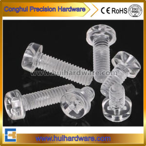 Polycarbonate Clear Type Phillips Pan Head Plastic Screw pictures & photos