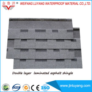Double Layer Laminated Asphalt Roofing Shingle for Villa