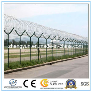 Airport Security Fence / Galvanized Iron Wire Mesh