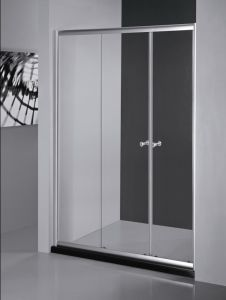 Tempered Glass Door Sliding\ Bathtub Door\ Shower Cabin