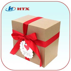 Hot Square Shape Cardboard Paper Box for Gift