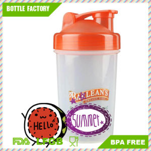 300ml Newly BPA Free Plastic Protein Shaker Bottle pictures & photos