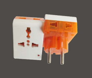 European 2pin Power Plug Travel Adaptor pictures & photos