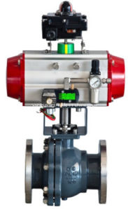 Pneumatic Shut off Ball Valve