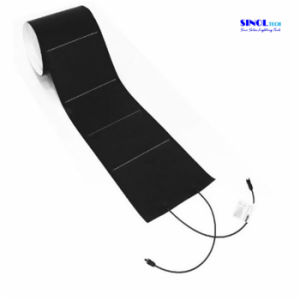72W Adhesive-Backed Flexible Amorphous Photovoltaic Solar Panel