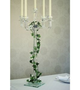 Wedding Decoration of Crystal Candelabra for Wedding Table Centrepieces pictures & photos