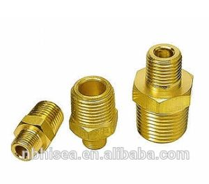 China Made CNC Machining Pneumatic Brass Fittings pictures & photos
