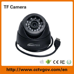 Night Vision Color CCTV Security DVR Camera with Memory SD Card Storage pictures & photos