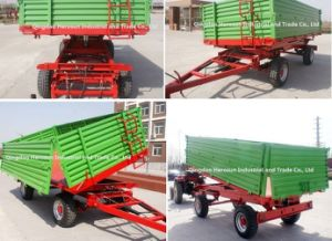 3tons Farm Trailer- Side Dump Trailer pictures & photos