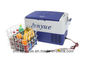 45L DC 12V 24V Mini Portable Camping Car Refrigerator for Car pictures & photos
