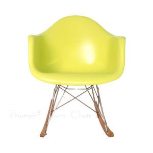 china yellow rocking eames daw armchair china leisure chair eames