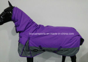 China Winter Horse Rug Removable Neck