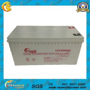 Top Sale 12V 200ah Lead Acid Battery for Solar System pictures & photos