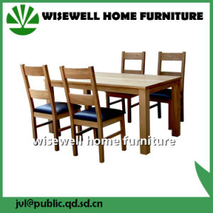 Solid Wood Dining Furniture Wood Table and Chair