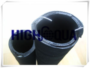 Rubber Flexible Water Oil Suction and Discharge Hose pictures & photos