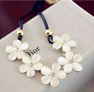 Fashion Beautiful Resin Necklace Jewelry (XL6801)