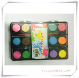 Colorful Promotional Solid-Dry Watercolor Paint Set for Promotion Gift (OI33007) pictures & photos