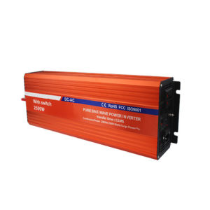 2500W Pure Sine Wave Inverter with Switch