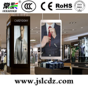High Definition Transparen Indoor Glass LED Display for Window Advertising