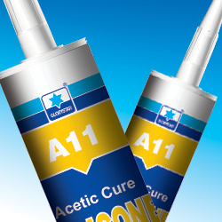 Acetoxy Silicone Sealant General Propose for Glass, Aluminium, Metal (A11) pictures & photos