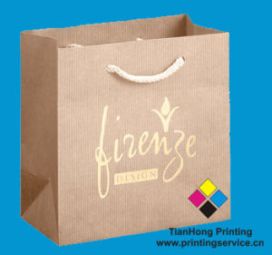Recyclable Shopping Paper Bag (OEM-PB009) pictures & photos