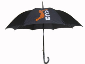Cheap Auto Open Advertising Promotion Straight Umbrella (AU008) pictures & photos