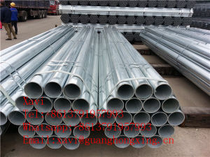 ASTM A570, JIS Sm490, DIN St-50, St-52, Gbq345 Low Alloy Steel Round Pipe