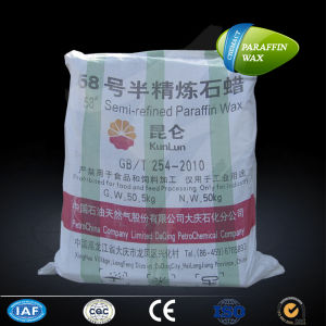 High Quality Semi Refind Paraffin Wax 58-60 pictures & photos