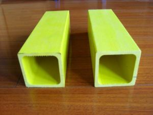 UV Resistant GRP Rectangular Tube, FRP Rectangular Tube, Fiberglass Rectangular Tube pictures & photos