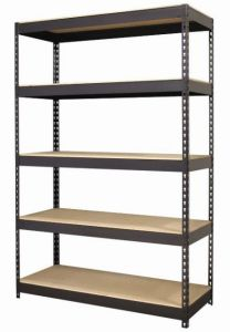 5 Layers Double Rivet Light Duty Shelving pictures & photos