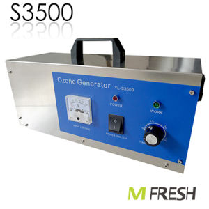Ozone Sanitizer Air Sterilizer Water Deodorizer S3500