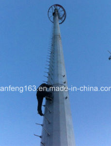 Steel Pole for Power Transmission Steel Tower pictures & photos