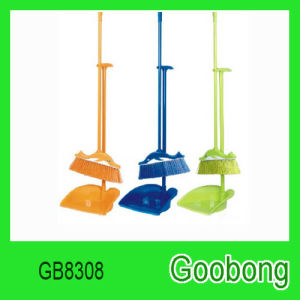 Daily Use Cleaning Tool Plastic Broom Dustpan