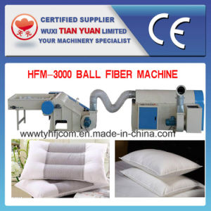 Nonwoven Siliconized Polyester Fiber Ball Machine pictures & photos