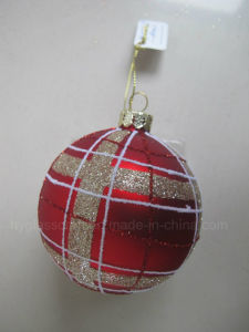 Red Color Handblown Glass Crafts Ornaments pictures & photos