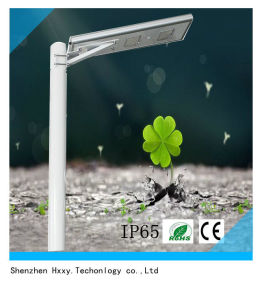 Manufacturer Products 50W LED Integrated Solar Street Light for Outside pictures & photos